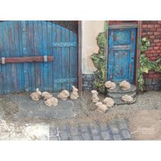 Konijntjes van keramiek