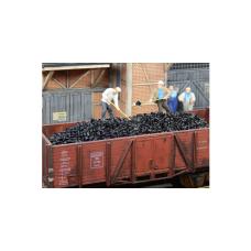 Steenkool stof-vrij